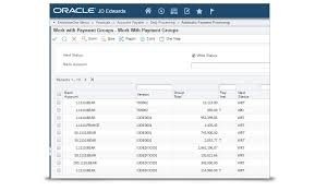 accounts payable oracle