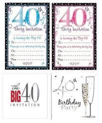 age 40 40th birthday party invitations u0026 envelopes boy male