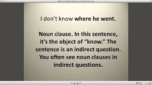 what u0027s the difference between an adjective clause and a noun
