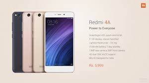 Redmi 4a Xiaomi Launches Redmi 4a In India Gsmarena News