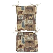 Barstool Cushions Cabin Kitchen Decor For Your Home At Black Forest Decor