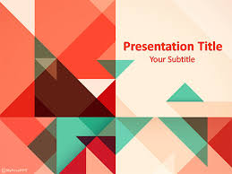 Geometry Ppt Templates Free Download Art Powerpoint Template Free Free Power Point
