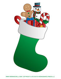 hanging christmas stockings clipart free clip art images