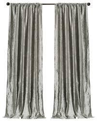 Silver Window Curtains Captivating Lush Decor Curtains And Velvet Silver Bells