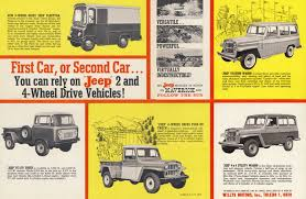 jeep station wagon lifted advertising u0026 brochures ewillys page 4