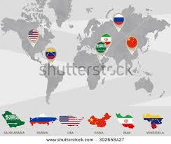 map russia to usa world map saudi arabia russia usa stock illustration 392658427