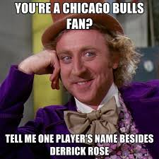 Chicago Bulls Memes - you re a chicago bulls fan tell me one player s name besides