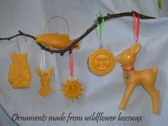 primitive sheep blackened beeswax mold cookie ornament