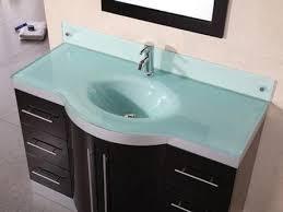 glass bathroom sinks countertops my web value