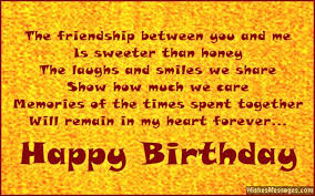birthday wishes for friends wishesmessages