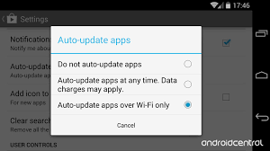 how to update apps android updating your android apps choosing automatic or manual and how