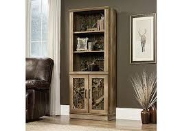 Bookcase With Door East Library Bookcase With Doors Oak 418052