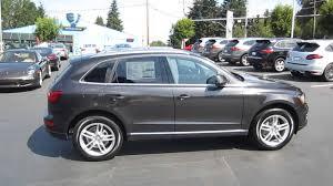 Audi Q5 Chestnut Brown Interior 2014 Audi Q5 Lava Gray Stock 109461 Youtube