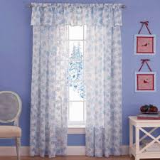 flurry snowflake sparkle 84 curtain panel clearance sale sheer