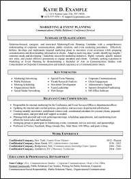 Resume Examples Marketing by Professional Resume Writing Services Careers Plus Resumes