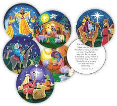 nativity story ornaments