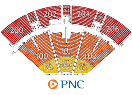 pnc pavilion seating chart pnc pavilion pinterest seating charts