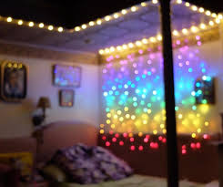 connect 2m rainbow led curtain icicle string lights led lights