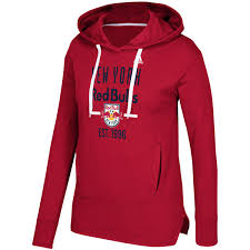women u0027s new york red bulls adidas red simply put pullover hoodie