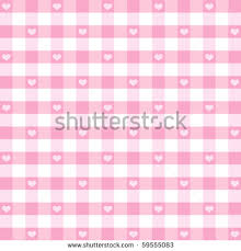 fashioned photo albums hearts gingham seamless pattern fashioned design in pastel