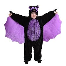 child scary bat costume vampire halloween fancy dress costume one