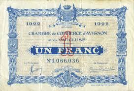 chambre de commerce vaucluse billets de necessite francais avignon 84 chambre de commerce d