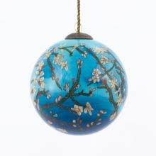 glass ornaments painted ornaments