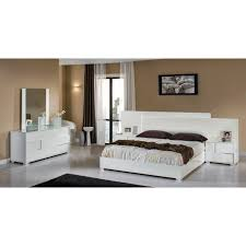 Italian Bedroom Furniture Ebay Monza Italian Bedroom Set White Bed Contemporary Bedroom Sets
