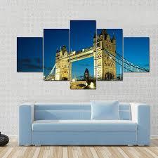 london tiaracle tower bridge at dusk london panel painting tiaracle