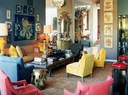 blue and yellow living room decor design ideas modern simple on