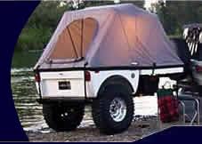 jeep wrangler cargo trailer jeep trailers road tent trailer 4x4 trailers rubicon trailer