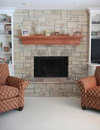 stack stone fireplace diy ideas 2120