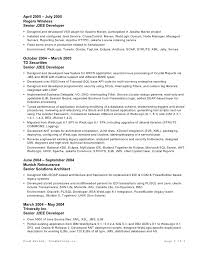 Architect Sample Resume by Java Architect Cover Letter