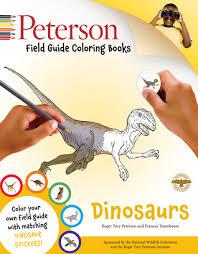 peterson field guide coloring books dinosaurs john kricher