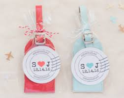 luggage tags favors travels favors llc by lovetravelsfavors on etsy