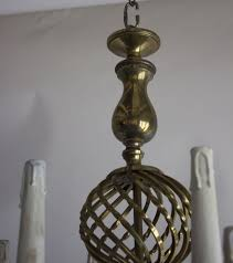 Brass Antique Chandelier Unusual Brass Antique Chandelier