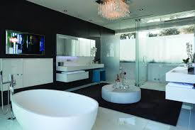 Contemporary Master Bathrooms - luxury contemporary master bathrooms marble furniture in the