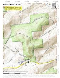 bates map bates state forest andy arthur org