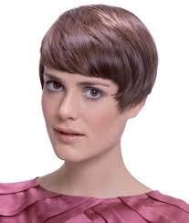 nice hairstyle for woman late 50s short retro 50s haircut with fanned out sideburns
