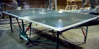 aluminum ping pong table kettler foldable aluminum ping pong table because every home needs