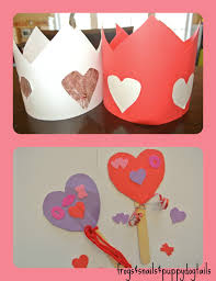 valentine u0027s day crowns and wands great photo props for the kids