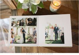luxury wedding albums albums garrett richardson photography