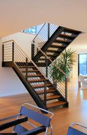 Interior Stairs Design In Duplex Apartments 10 Steel Staircase Designs Sleek Durable And Strong Staircases