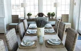 coastal dining room sets beautiful living and dining rooms cottage dining room set