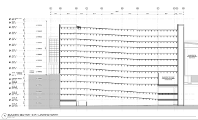 centene corporate auditorium parking garage design revisions