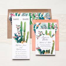 rustic save the dates desert save the dates beacon