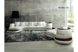 Leather Sectional Sofa Sleeper Contemporary Italian Leather Sectional Sofas Facg Beliani