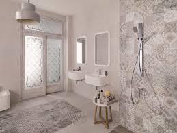 fascinate patterned ceramic floor tile u2014 cabinet hardware room