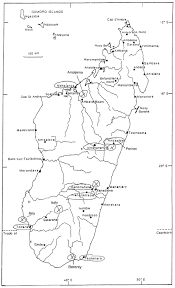 Madagascar Map Madagascar Natural History Itinerary Mark Smith Nature Tours