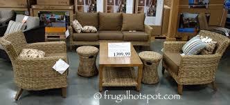 Brown Jordan Patio Set by Costco Studio By Brown Jordan 6 Pc Seating Set 1 399 99 Frugal